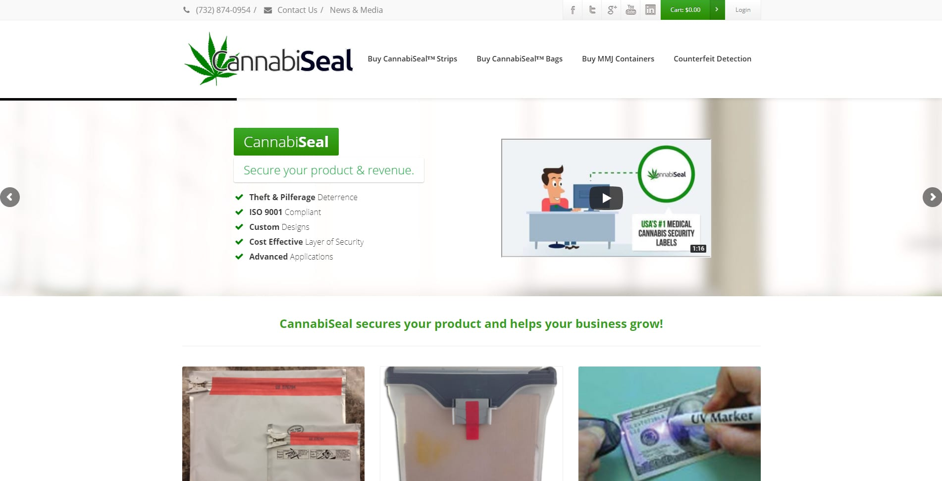 CannabiSeal - Medical Cannabis Security Products