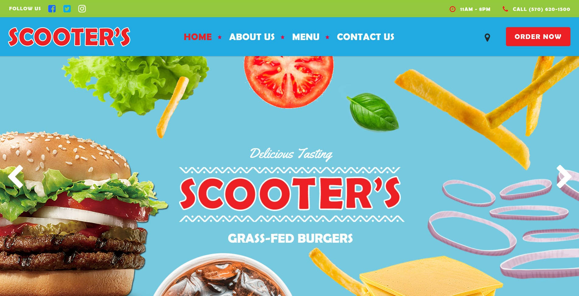 Scooter's Grass Fed Burgers - Tannersville, PA