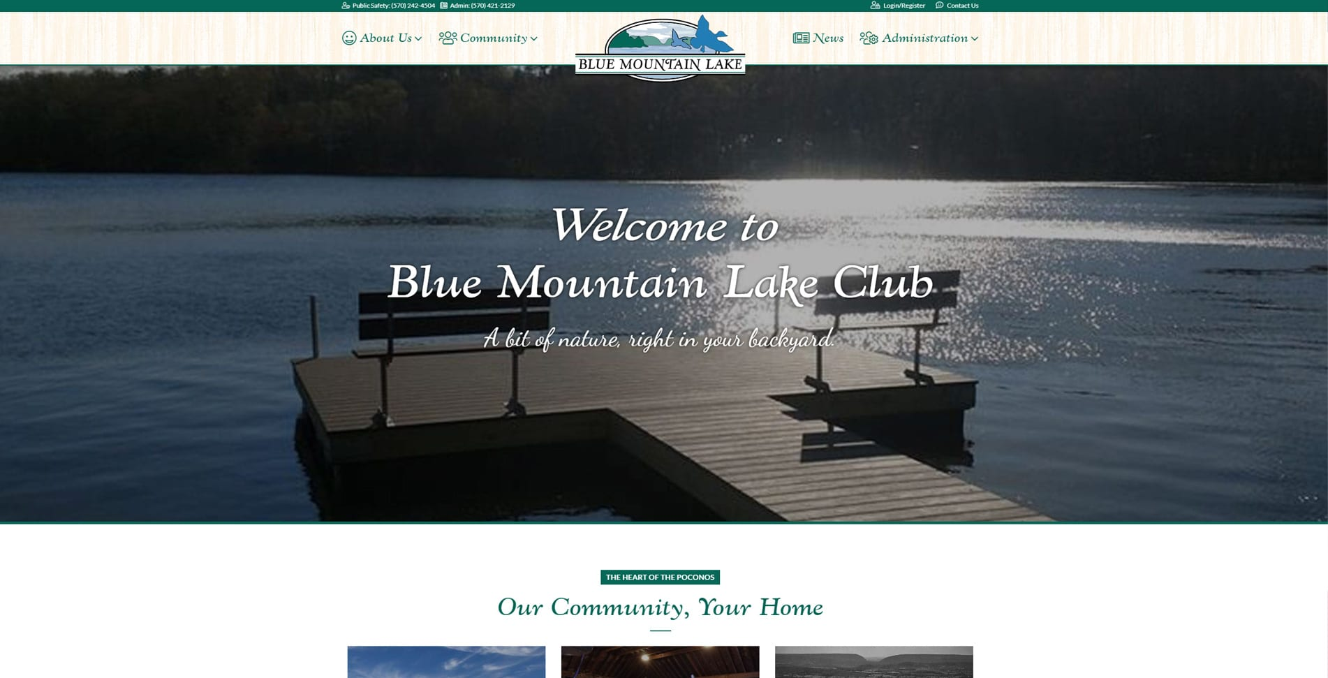 Blue Mountain Lake Club - East Stroudsburg, PA